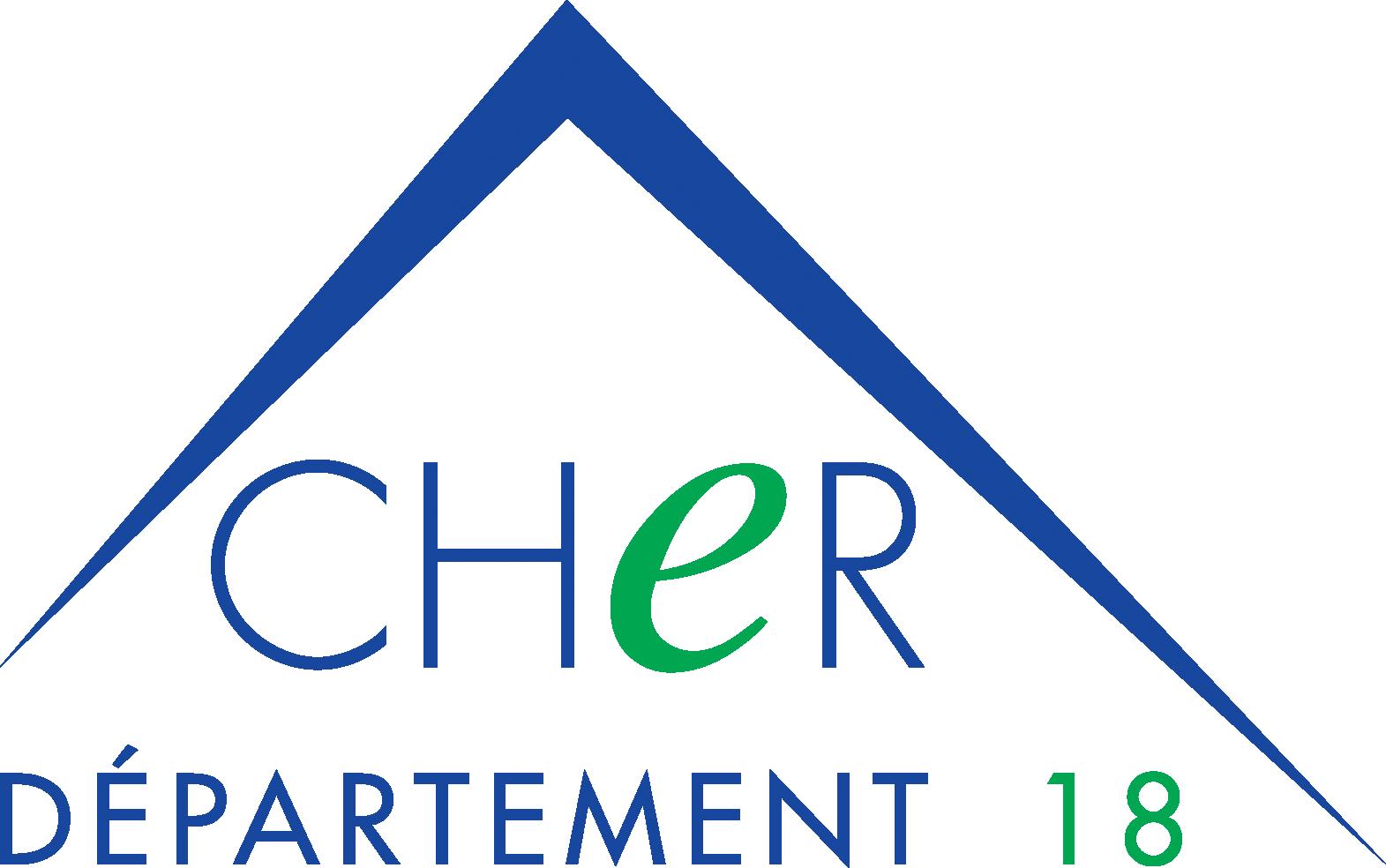 Logo du Conseil départemental du Cher